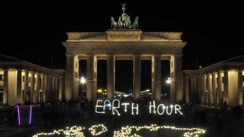 Earth Hour im Home-Office
