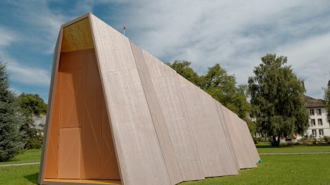 Dem Baustoff Holz soll die Zukunft gehören