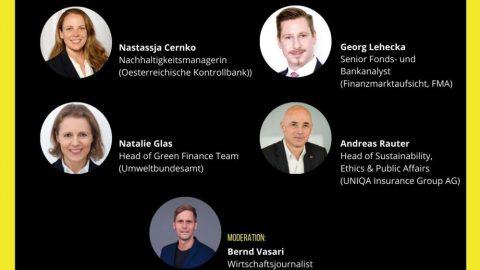 Key Note und Diskussion zu Klimafinanzierung Wien 2050