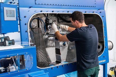Kyburz revolutioniert das Recycling von Lithiumbatterien