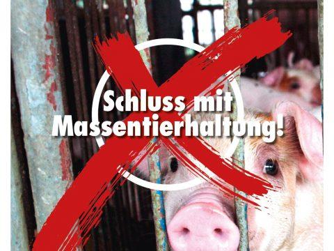 Tierschutzvolksbegehren präsentiert Abschlusskampagne