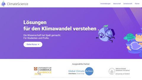 Klimabildung leicht gemacht mit ClimateScience