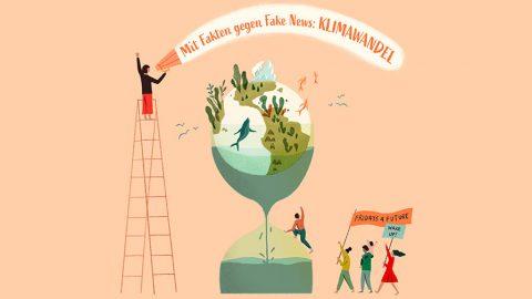 """Jugendinfo-Kampagne zur Klimakrise: """"Mit Fakten gegen Fake News"""""""