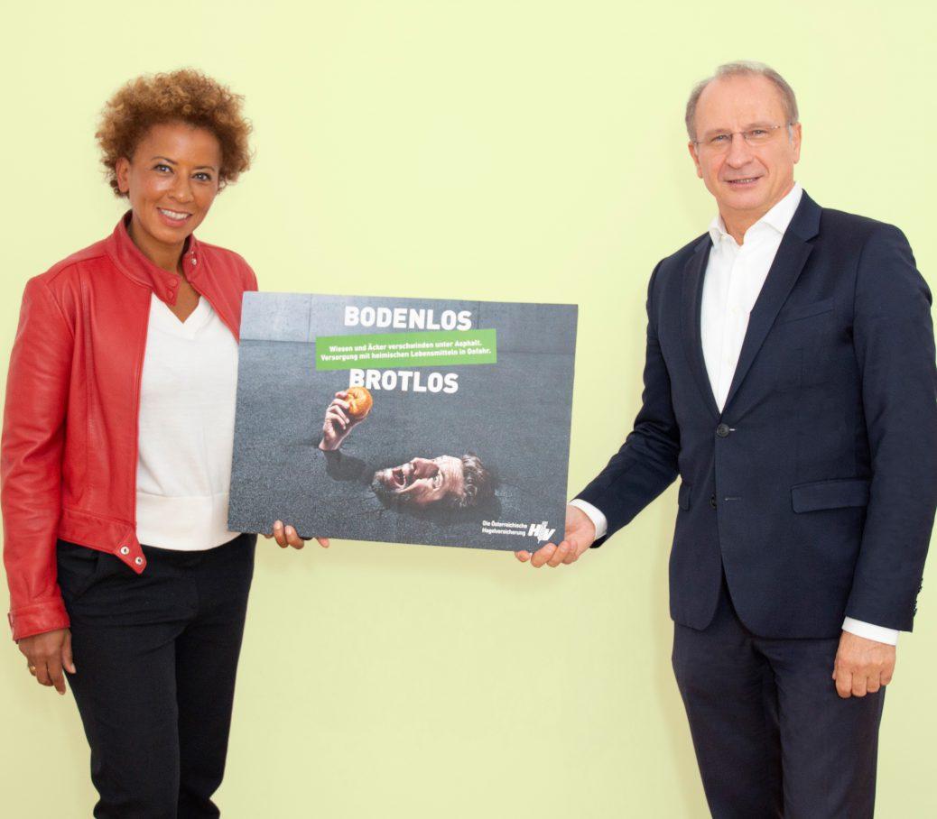 Weltbodentag: Arabella Kiesbauer unterstŸtzt die Allianz ãStoppt Bodenvernichtung