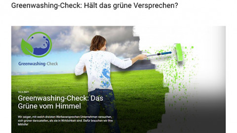 Verein für Konsumenteninformation startet Greenwashing-Check