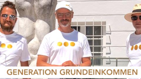 """packmas.Hören – Generation Grundeinkommen: """"Ein stabiler finanzieller Sockel für alle!"""""""