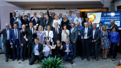 Austrian SDG-Award: 17 globale Ziele – 14 Pioniere ausgezeichnet