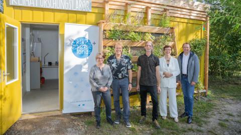 Kinder Klimaforschungslabor im Sonnenpark in St. Pölten eröffnet