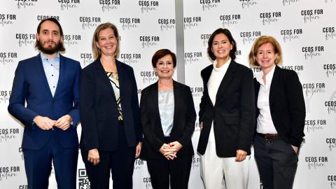 Doris Schmidauer ist ab sofort CEOs FOR FUTURE-Botschafterin