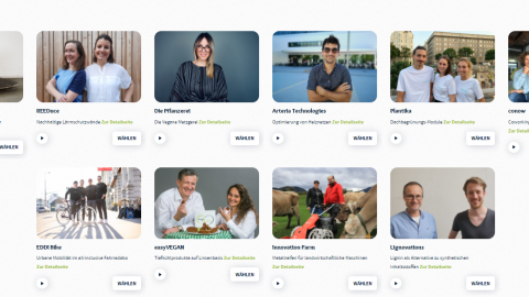 greenstart Finale: Jetzt für die besten Klima-Start-ups voten